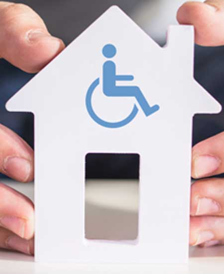 Subvenciones de la generalitat para la adaptación del domicilio de las personas discapacitadas.